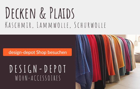 design-depot Shop Decken und Plaids